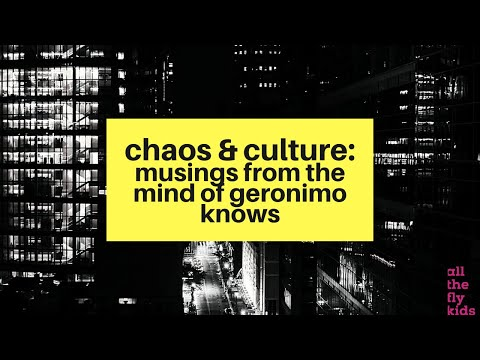 Chaos & Culture Episode 0: Musings From the Mind of Geronimo Knows feat. Sheba The Healer