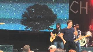 "Scotty McCreery Entrance + ""Now"" @ Indian Ranch 8/2/14"