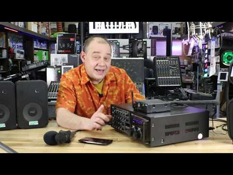 Best Karaoke system starts with the PYLE PMXAKB2000 1000w with Bluetooth - audio mixer tutorial