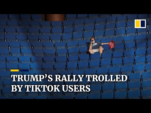 K-pop fans and TikTok teens troll Trump with fake registrations for first campaign rally in months