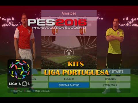 PES 2016   Liga Portuguesa Kits   Link Descarga   PS4 - YouTube
