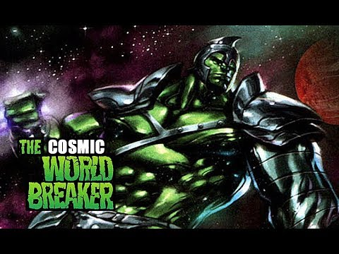 Cosmic Powered World Breaker Hulk : The Most Powerful Herald of Galactus