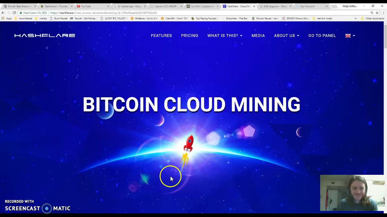 cloud mining with credit card