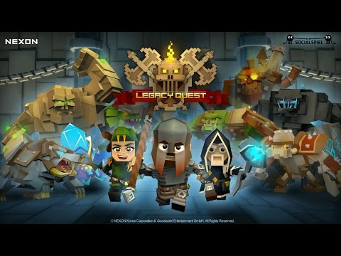 Official Legacy Quest (by NEXON Company) Announcement Trailer (iOS/Android)