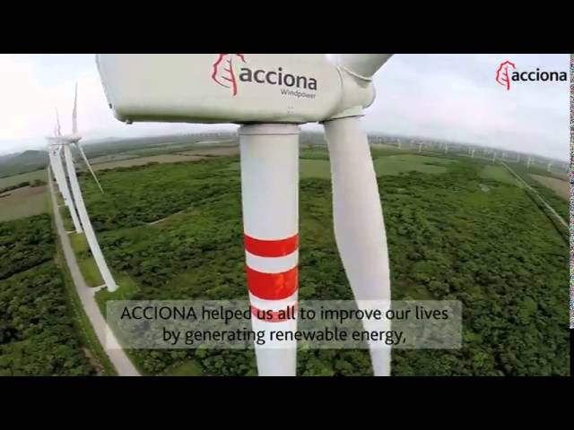 ACCIONA Supports the Community of Oaxaca, Mexico