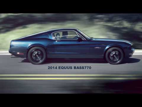 Equus Bass770 The Luxury American Muscle car