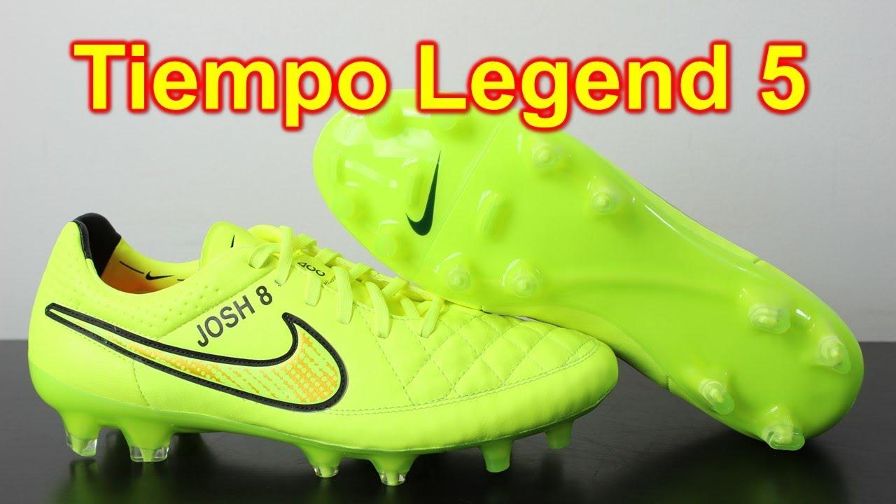 size 40 3e61d d25a6 Nike Tiempo Legend 5 Volt/Gold/Hyper Punch - Unboxing + On Feet