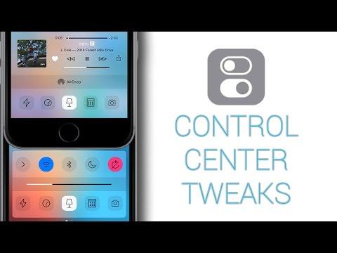 TOP 5 Best Control Center Tweaks for iOS 9 - 9.3.5