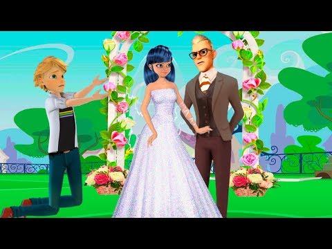 Miraculous Ladybug Animation/ Marinette Getting Married?