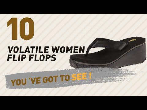 Volatile Women Flip Flops // New & Popular 2017