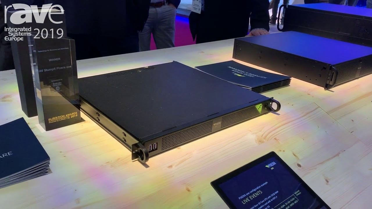 ISE 2019: AV Stumpfl Talks About PIXERA One Media Server With PIXERA Software