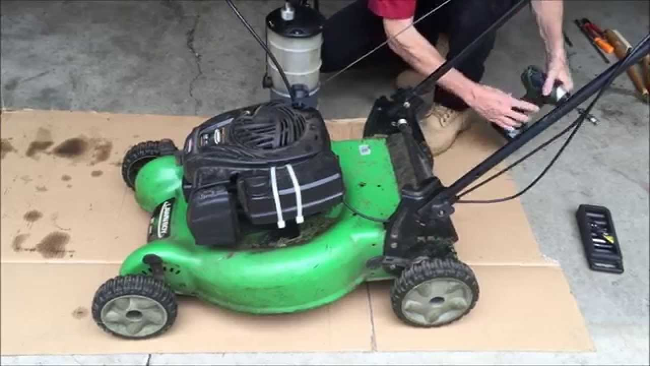 Lawn Boy Belt Replacement Youtube
