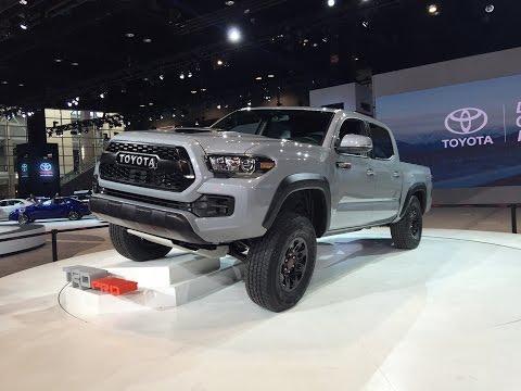 Chicago 2016: Toyota Tacoma TRD Pro