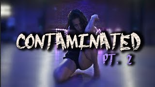 "JOJO GOMEZ & JADE CHYNOWETH perform ""Contaminated"" by BANKS 