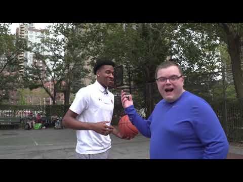 Basketball Karaoke with St John's: Justin Simon and Marvin Clark