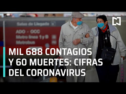 Casos de Coronavirus en México l Conferencia sobre coronavirus en México - Las Noticias