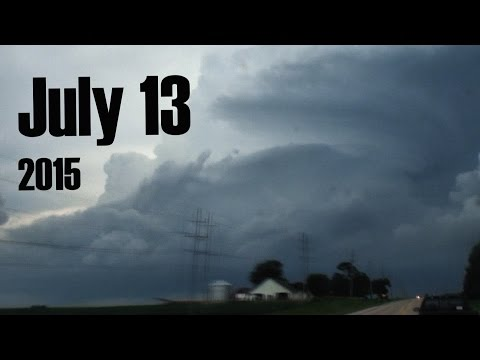 Supercell In Motion: July 13, 2015 Ottawa, IL