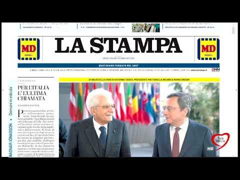 I giornali in edicola - la rassegna stampa 03/02/2021