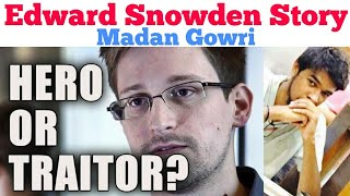 Edward Snowden | Tamil | Madan Gowri | MG | Edward Snowden Story | Hero or Traitor?