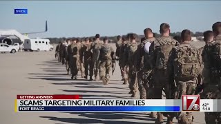 Phishing scam targets military families
