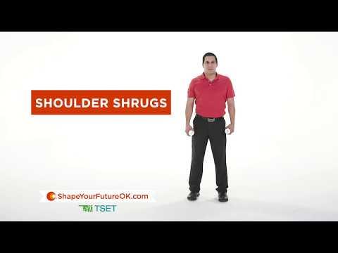 Shape Your Future: Easy Shoulder Shrug Workout