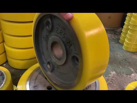 Восстановление колес полиуретаном