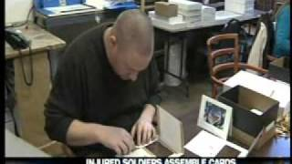 Your BBB in the News - Injured Soldiers Hand-Assemble Holiday Greeting Cards