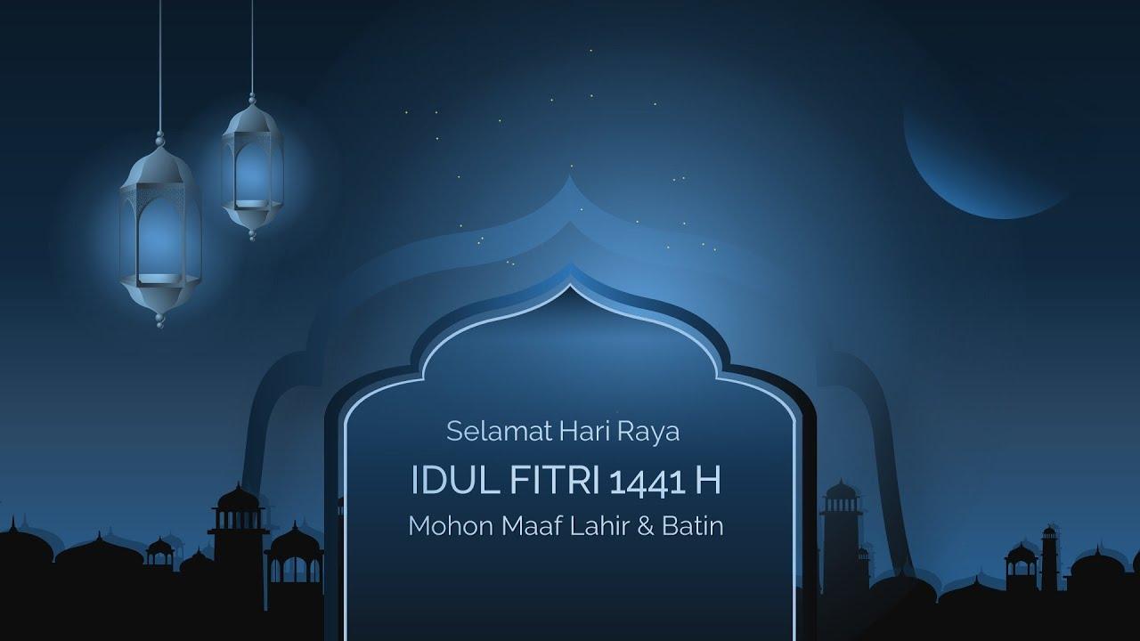 Video Ucapan Selamat Idul Fitri 2020 1441 Hijriyah KODE 23 Eid