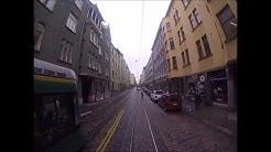 Helsingin Raitiolinja: 1 Eira-Käpylä. Uusi reitti. (2017) Helsinki Tramroute: 1 New route (2017)
