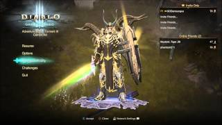 Diablo 3 Hacked weapons ? / powerful character / 13million Damage / Duplicate items
