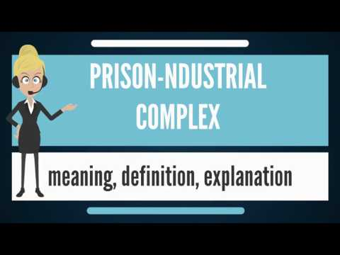 What is PRISON-INDUSTRIAL COMPLEX? What does PRISON-INDUSTRIAL COMPLEX mean?