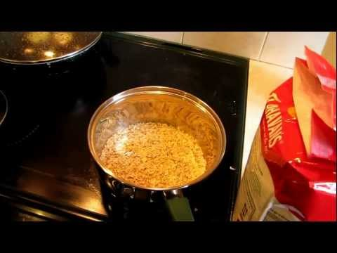 Student Breakfast - Oats with milk - Sunday Kitchen (Episode 4) (HD) Video