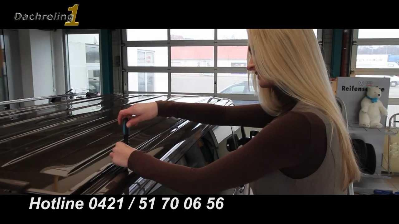 dachreling montage vw t5 youtube. Black Bedroom Furniture Sets. Home Design Ideas