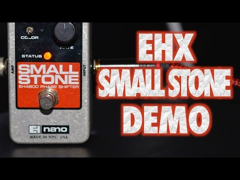 EHX Small Stone Phaser Pedal Demo