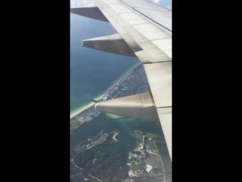 Flight from New Jersey (EWR) to Miami (MIA).