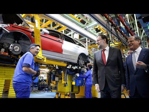 El presidente visita a la planta de Ford en Almussafes (Valencia)