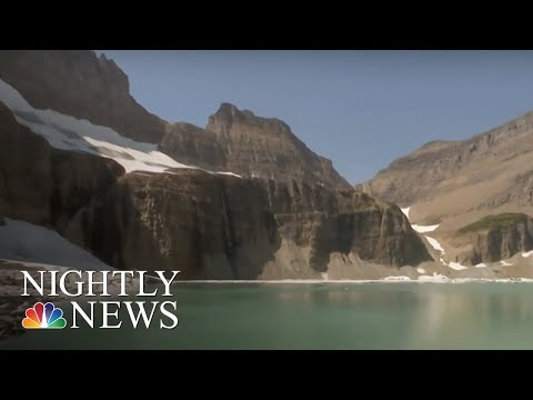 How Climate Change Is Wiping Out This National Park | NBC Nightly News