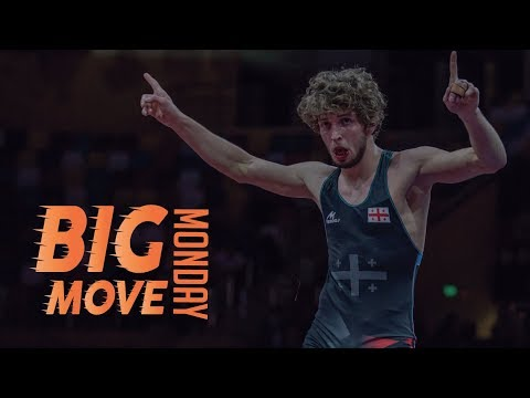 Big Move Monday --Iuri LOMADZE (GEO) -- 2018 European C'ships