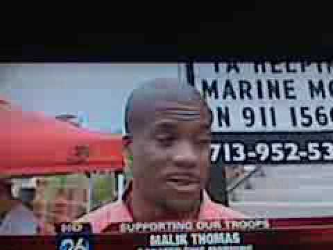 Frontline Friday at Ticket Attractions 9-11 for Houston Marine Moms