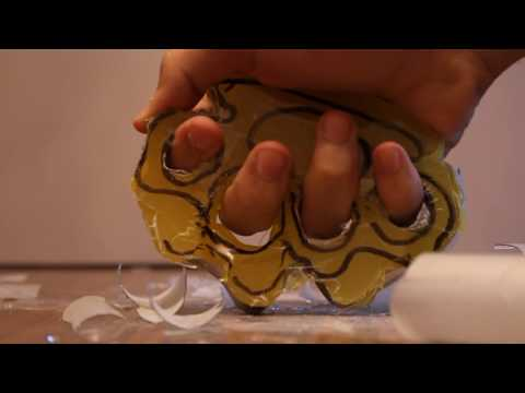 Simple life hack - DIY Brass knuckles