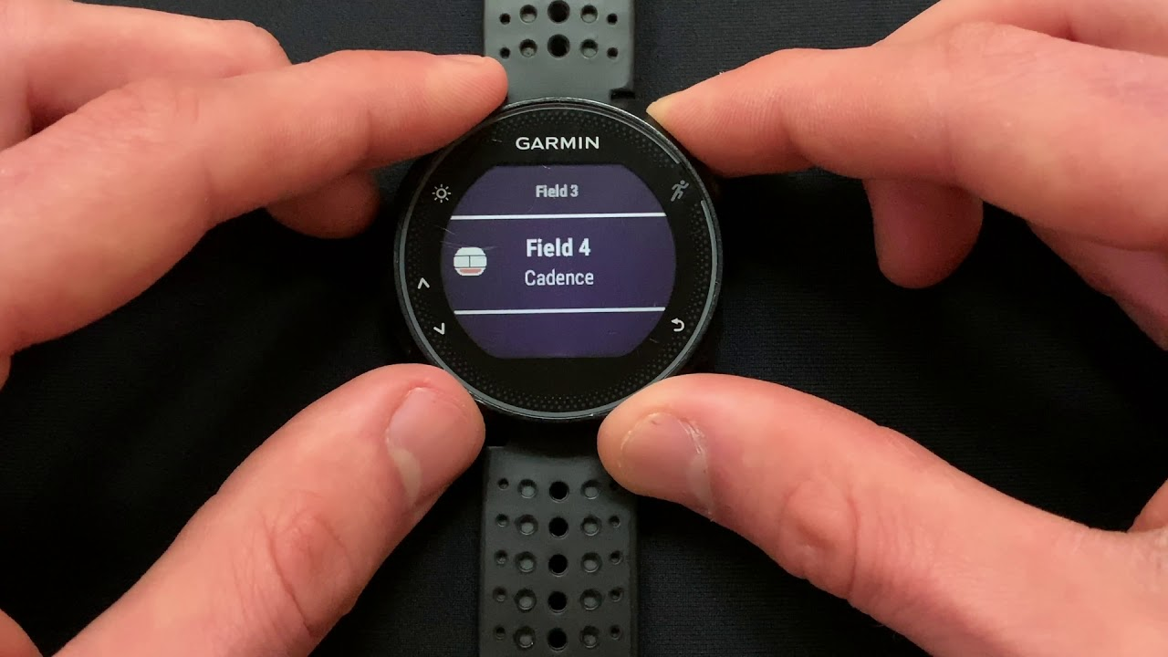 Garmin Forerunner 235 Setup 1 of 2: Display and Record 'Stryd Power' On  Your Watch In 'Run' Mode