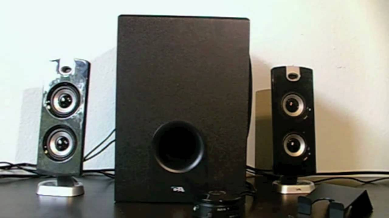 First Thoughts Of A 2 1 Cyber Acoustics Speakers  Ca