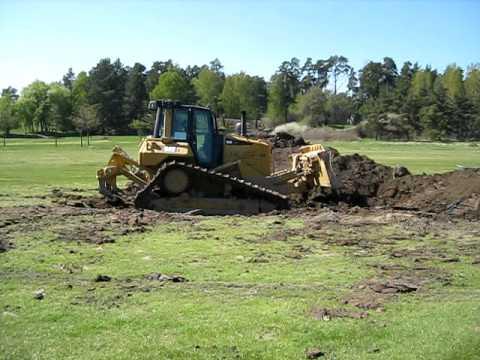 BUNKER CONSTRUCTION ROYAL DROTTNINGHOLM GOLF CLUB