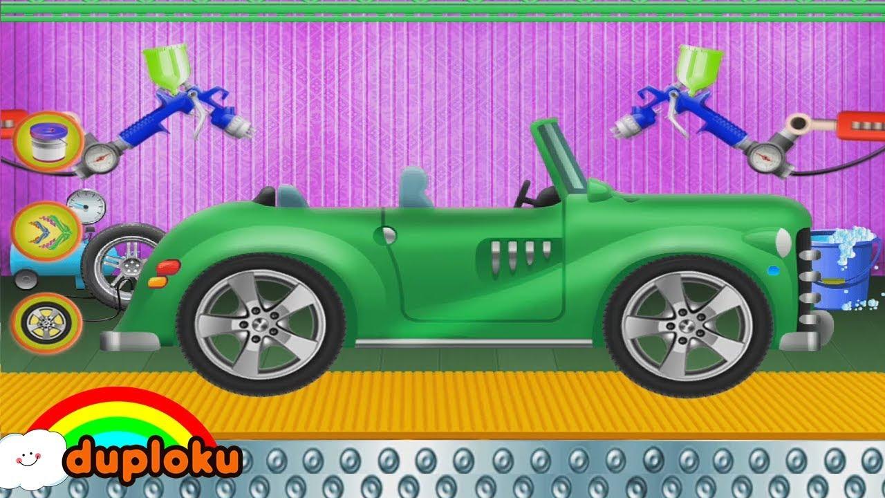 Cuci Mobil Dan Modifikasi Car Wash Game Review Duploku Youtube