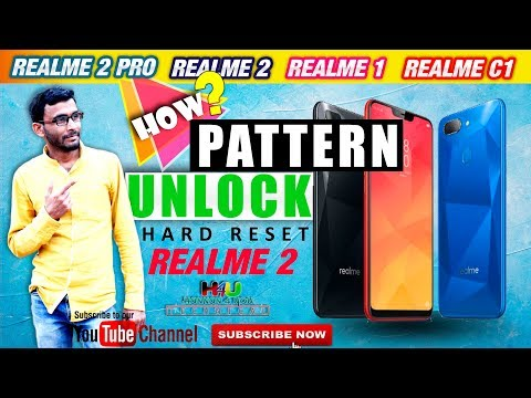 realme hard reset format pattern lock unlock realme 3 realme