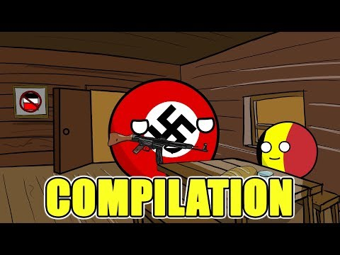 Countryballs Compilation - #1
