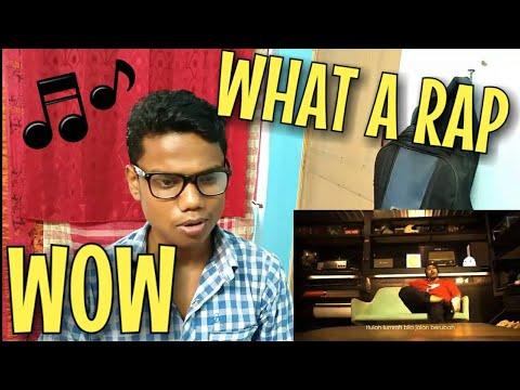Indian Reacting To:Haqiem Rusli feat Aman Ra - Jatuh Bangun ( Official Music Video )