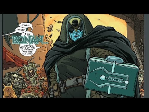 Supervillain Origins: Ronan The Accuser