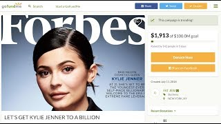 Kylie Jenner fans start GoFundMe page to raise cash needed to make her a billionaire