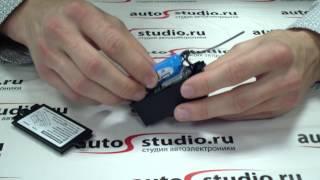 видео GPS-маяк  MS PGSM4